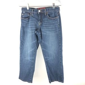 Lucky Brand Blue Denim Jeans Capris 4